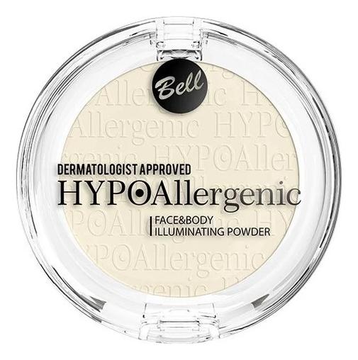 Купить Пудра для лица и тела придающая сияние Hypoallergenic Face & Body Illuminating Powder, Пудра для лица и тела придающая сияние Hypoallergenic Face & Body Illuminating Powder, Bell