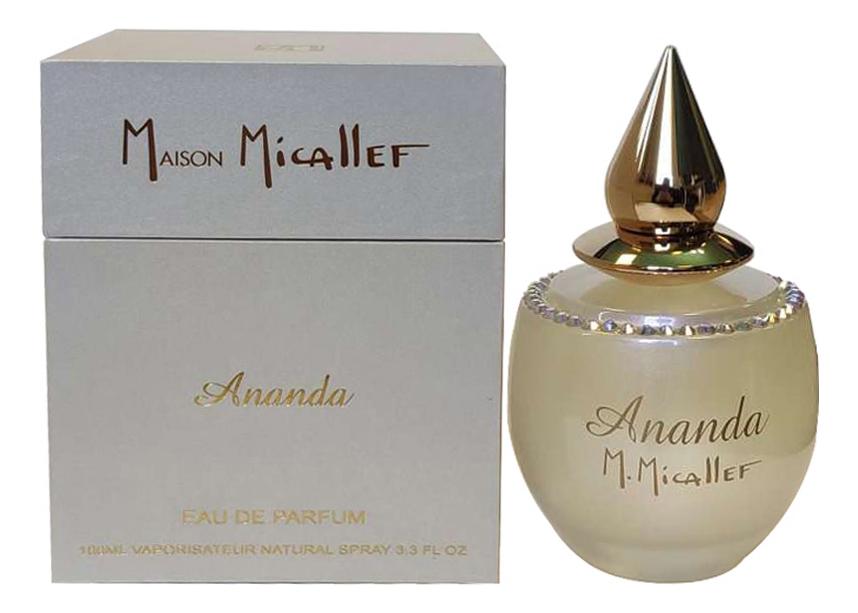 M. Micallef Ananda: парфюмерная вода 100мл m micallef note ambree парфюмерная вода 2мл