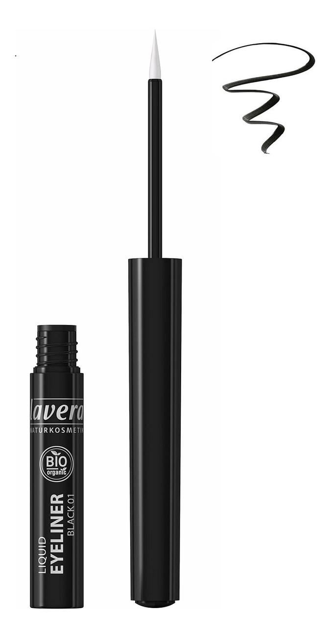 Подводка для глаз Liquid Eyeliner 2,8мл: Черная