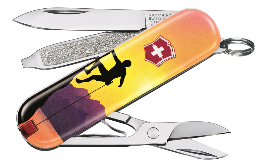 Нож-брелок Classic Climb High 58мм, 7 функций 0.6223.L2004