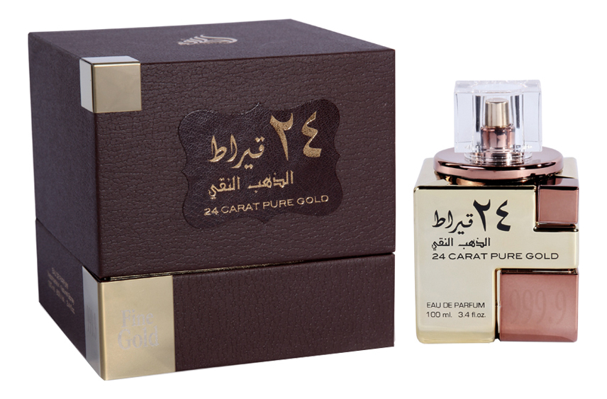 Lattafa 24 Carat Pure Gold: парфюмерная вода 100мл