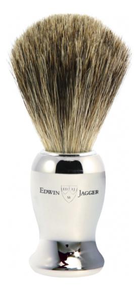 Помазок для бритья 21SB367CR (щетка искусственный барсучий ворс) помазок для бритья 9ej872 щетка барсучий ворс