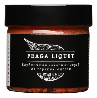 Купить Сахарный скраб для лица Клубника Fraga Liquet: Скраб 150мл, Laboratorium