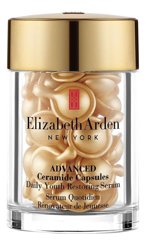 Купить Сыворотка для лица и шеи с церамидами Advanced Ceramide Capsules Daily Youth Restoring Serum: Сыворотка 30 капсул, Elizabeth Arden