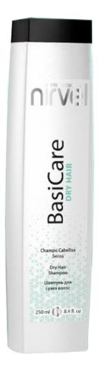 Купить Шампунь для сухих волос увлажняющий BasiCare Dry Hair Shampoo: Шампунь 250мл, Nirvel Professional