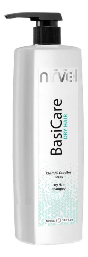 Купить Шампунь для сухих волос увлажняющий BasiCare Dry Hair Shampoo: Шампунь 1000мл, Nirvel Professional