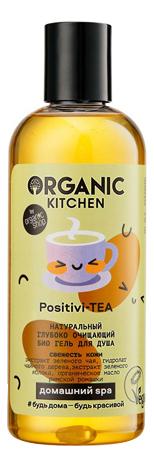 Купить Гель для душа глубоко очищающий Organic Kitchen Positivi-Tea 270мл, Organic Shop