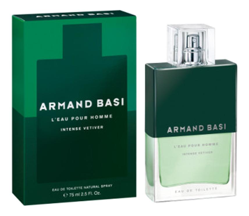 Купить L'Eau Pour Homme Intense Vetiver: туалетная вода 75мл, Armand Basi