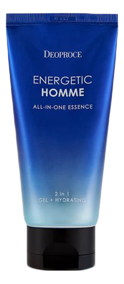 Купить Эссенция для лица 2 в 1 Energetic Homme All-In-One Essence 110мл, Deoproce