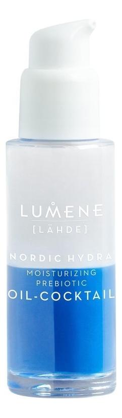 Купить Увлажняющий коктейль для лица с пребиотиками Nordic Hydra [Lahde] 30мл, Lumene