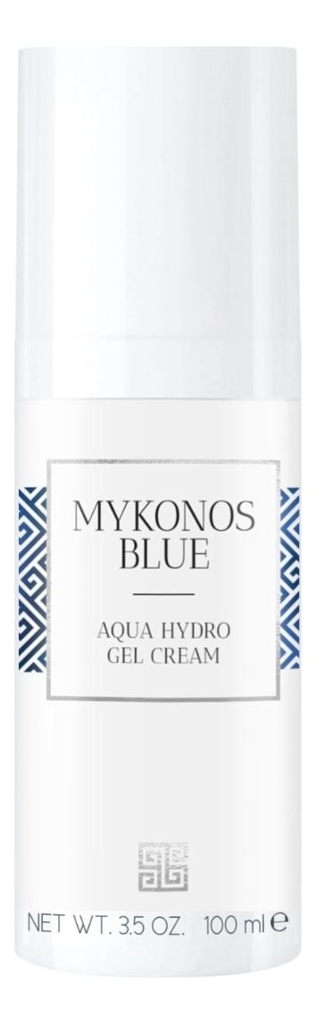 Интенсивно увлажняющий гель-крем для лица Mykonos Blue Aqua Hydro Gel Cream 50мл chi luxury black seed oil curl defining cream gel