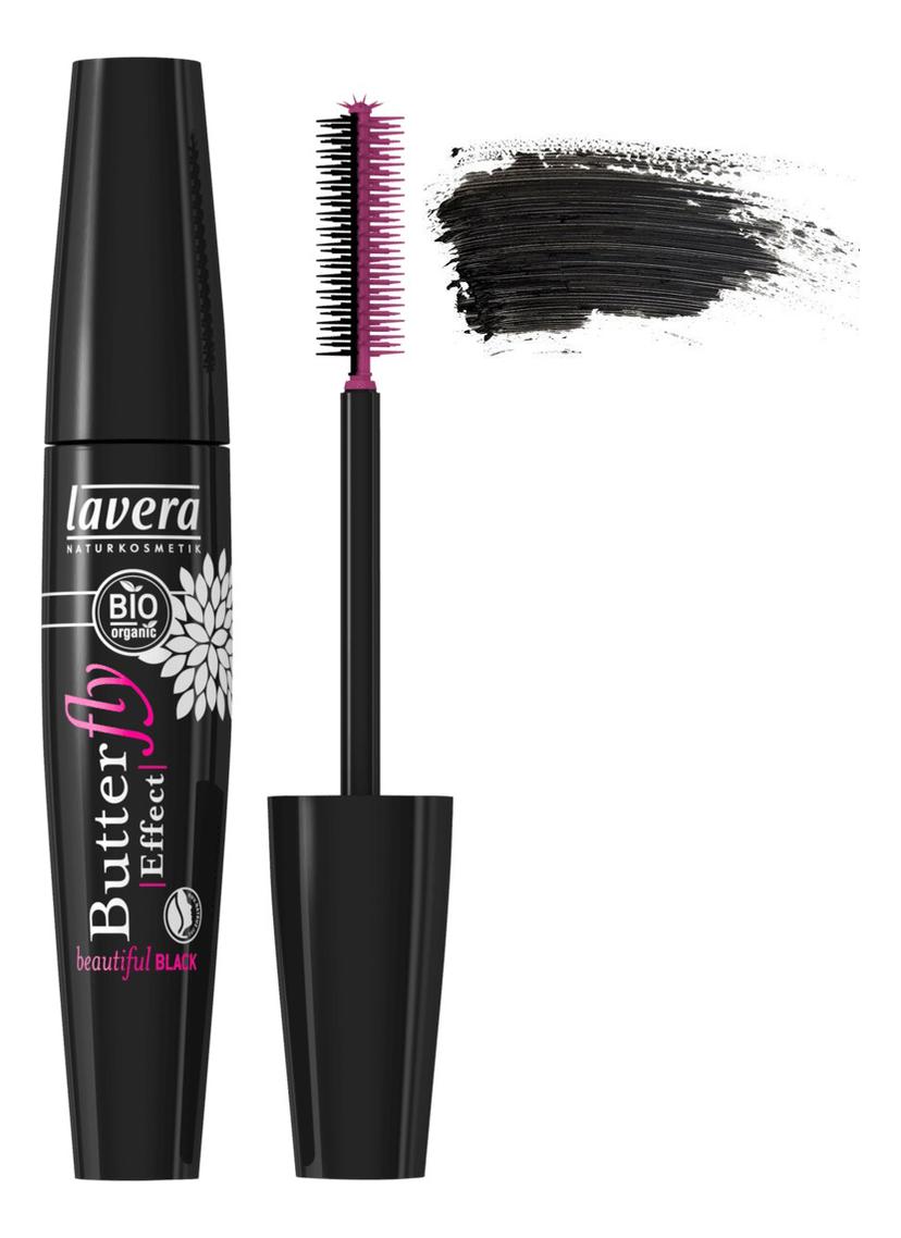 Тушь для ресниц с эффектом накладных Butterfly Effect Mascara 11мл: Black