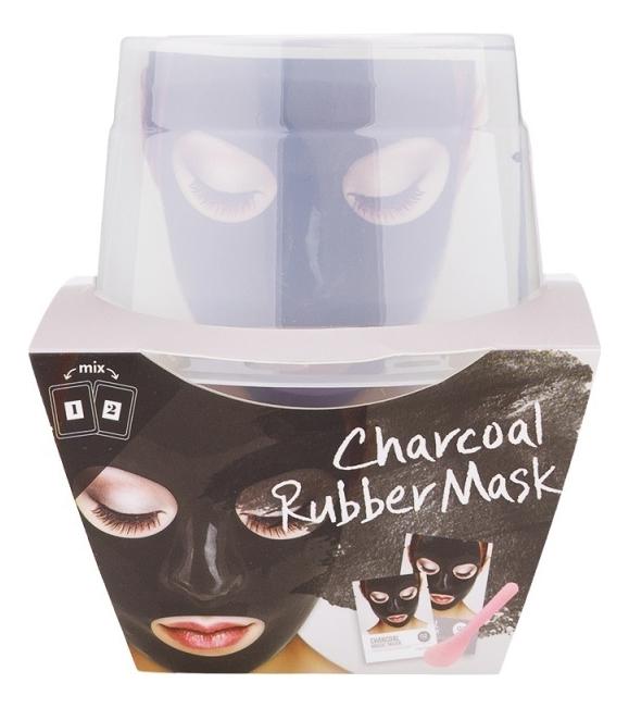 Фото - Альгинатная маска для лица с древесным углем Charcoal Magic Mask (пудра + активатор) альгинатная маска с маслом чайного дерева пудра активатор aqua tea tree magic mask