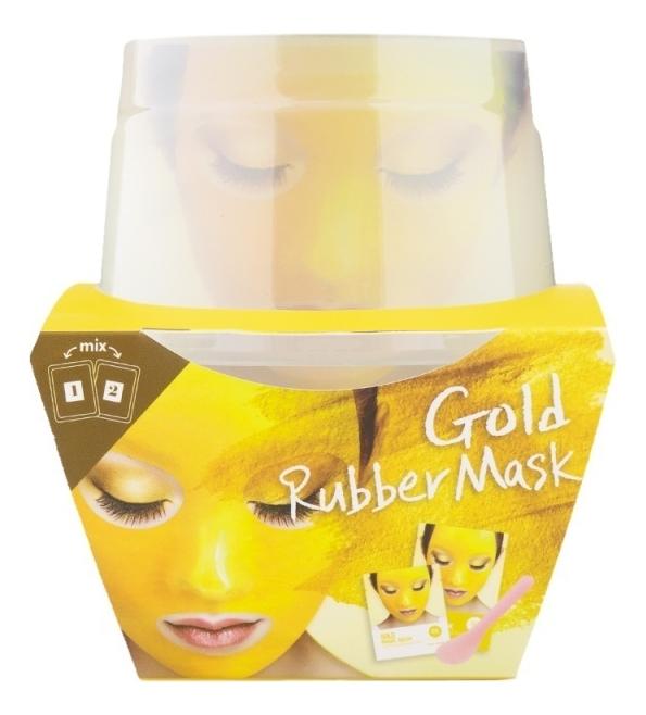 Фото - Альгинатная маска для лица c коллоидным золотом Gold Magic Mask (пудра + активатор) альгинатная маска с маслом чайного дерева пудра активатор aqua tea tree magic mask