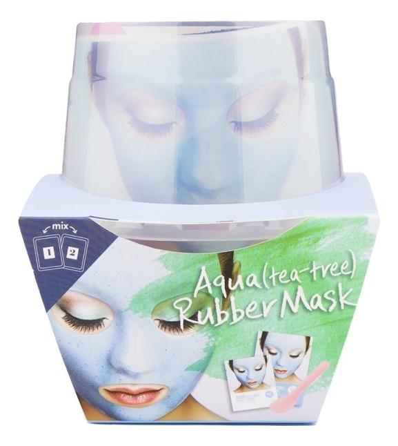 Фото - Альгинатная маска для лица с маслом чайного дерева Aqua Tea-Tree Magic Mask (пудра + активатор) альгинатная маска для лица с маслом чайного дерева cool tea tree modeling mask cup pack 28г