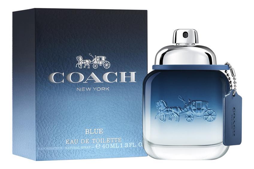 Coach Blue: туалетная вода 40мл coach pубашка