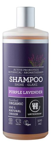 Шампунь для волос с экстрактом пурпурной лаванды Organic Purple Lavender: 500мл