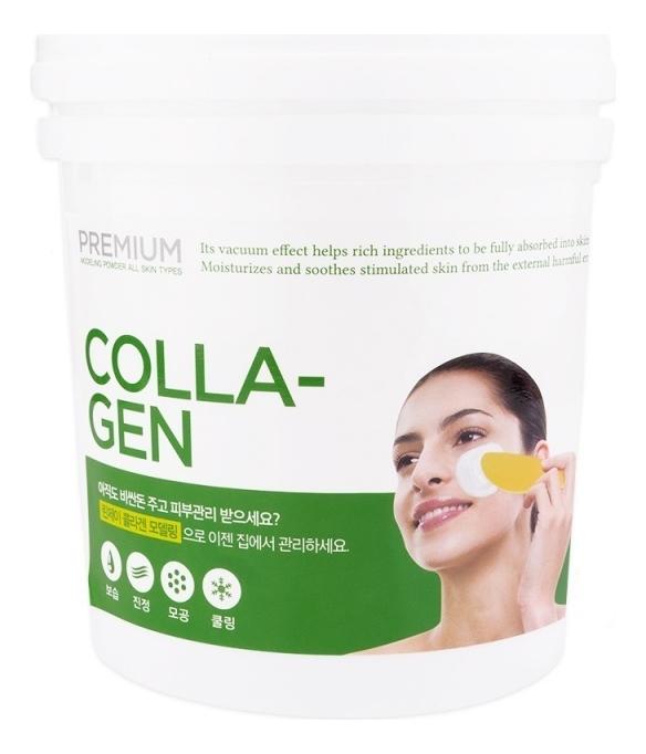Альгинатная маска для лица с коллагеном Premium Collagen Modeling Mask: Маска 820г недорого