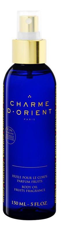 Массажное масло для тела с ароматом цветков Тиаре Huile Pour Le Corps Parfum Fleur De Tiare: Масло 150мл