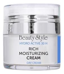 Увлажняющий дневной крем для лица Hydro Active 30 H Rich Moisturizing Cream SPF15: Крем 30мл