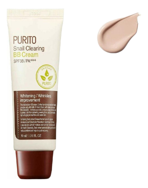 BB крем для лица Snail Clearing Cream SPF38 PA+++ 30мл: 23 Natural Beige