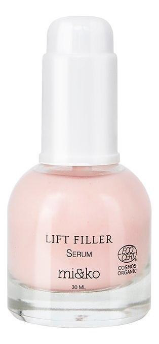 Сыворотка для лица с экстрактом льна Lift Filler Serum 30мл лифтинг сыворотка для лица мервейанс эксперт serum lift tensor 30мл