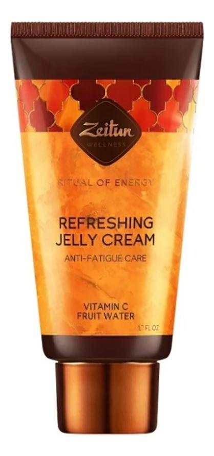 Купить Тонизирующий увлажняющий крем-желе для лица против признаков усталости Ритуал энергии 50мл, Zeitun