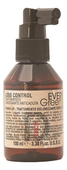 Фото - Средство против выпадения волос Every Green Loss Control 100мл dikson средство setamyl для волос 12 12 мл