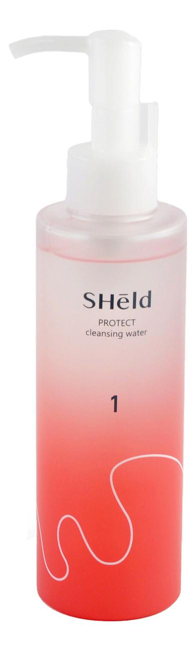 Купить Мицеллярная вода для очищения кожи лица SHeld Protect Cleansing Water 180мл, MOMOTANI