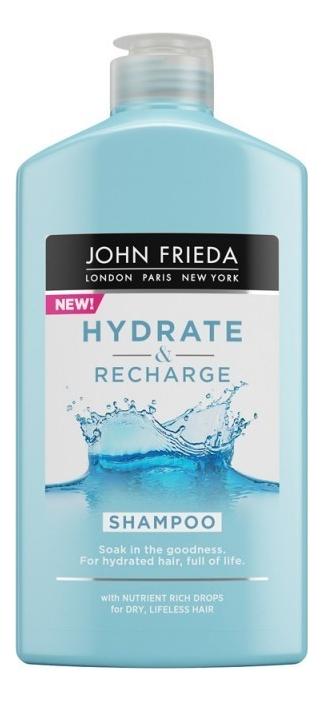 Купить Увлажняющий шампунь для волос Hydrate & Recharge Shampoo 250мл, Увлажняющий шампунь для волос Hydrate & Recharge Shampoo 250мл, JOHN FRIEDA