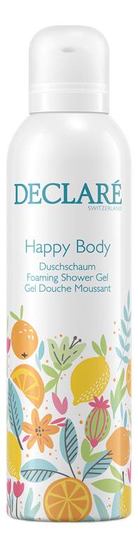 Фото - Гель-пена для душа Счастье для тела Happy Body Foaming Shower Gel 200мл гель для тела от растяжек phytolastil gel prevention des vergetures гель 200мл
