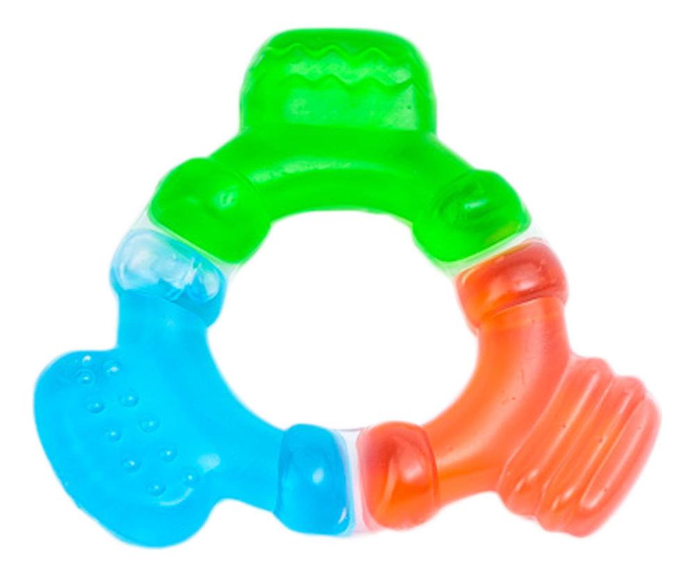 Прорезыватель водный охлаждающий 0+ (трехцветный) прорезыватели canpol водный охлаждающий птичка