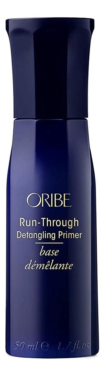 Купить Спрей-кондиционер для облегчения расчесывания волос Run-Through Detangling Primer: Спрей-кондиционер 50мл, Oribe