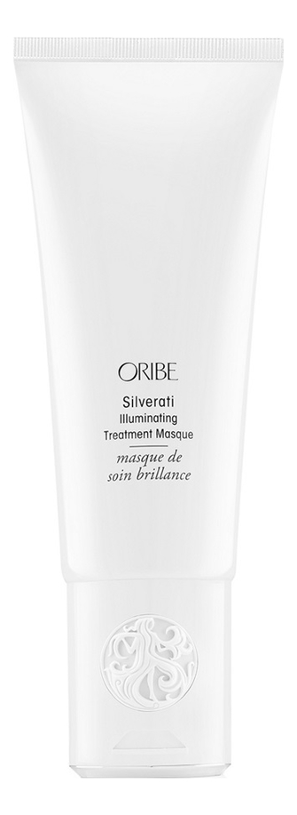 Купить Маска для окрашенных в пепельный и седых волос Silverati Illuminating Treatment Masque 150мл, Oribe