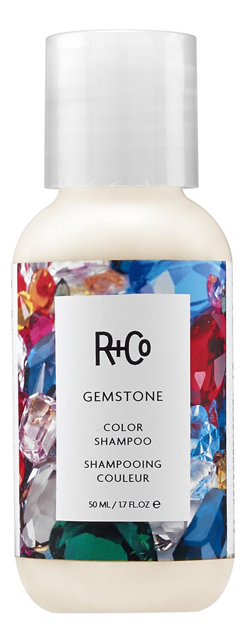 Фото - Питательный шампунь для волос Gemstone Color Shampoo: Шампунь 60мл текстурирующий шампунь r co cactus texturizing shampoo 177 мл