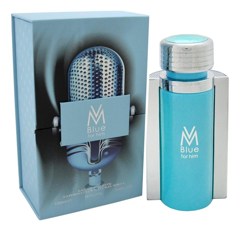 Купить VM Blue For Him: туалетная вода 100мл, Victor Manuelle