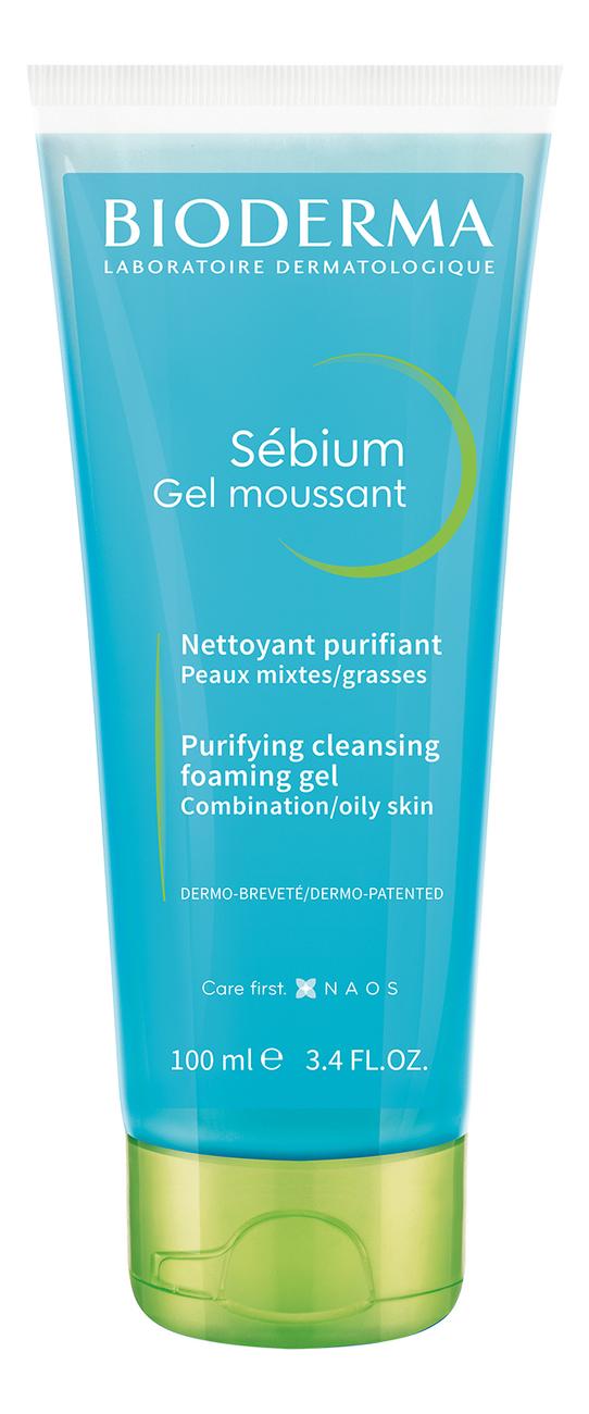 Гель для лица Sebium Gel Moussant: Гель 100мл bioderma atoderm pp gel moussant