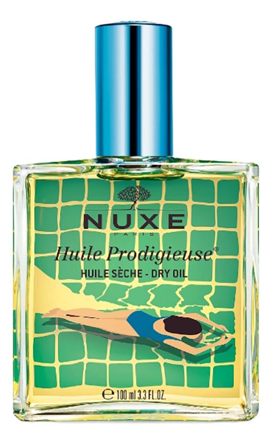 Фото - Сухое масло для лица, тела и волос Huile Продижьез Dry Oil 100мл (bleu) сухое масло для лица тела и волос reponse body sublim oil 50мл
