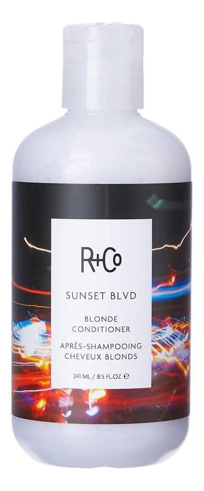 Фото - Кондиционер для светлых волос Sunset Blvd Blonde Conditioner: Кондиционер 241мл увлажняющий кондиционер для волос с витамином в5 atlantis moisturizing conditioner кондиционер 241мл