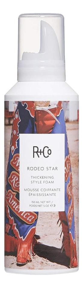Уплотняющий мусс для объема волос Rodeo Star Thickening Style Foam: Мусс 150мл
