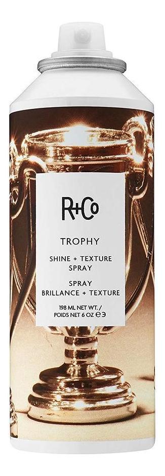 Спрей для текстуры и блеска волос Trophy Shine + Texture Spray: Спрей 198мл недорого