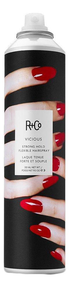 Спрей для укладки волос подвижной фиксации Vicious Strong Hold Flexible Hairspray: 310мл