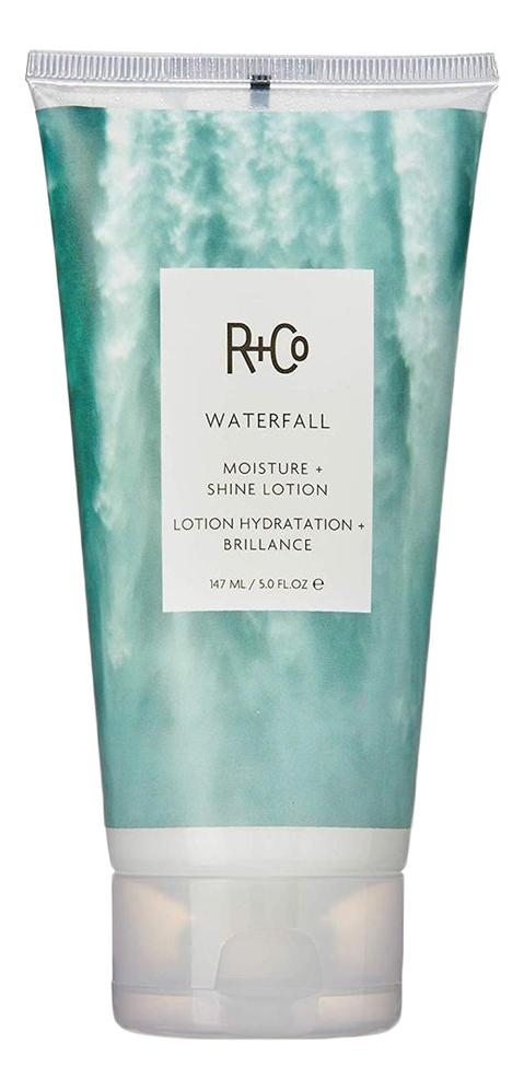 Увлажняющий лосьон для блеска волос Waterfall Moisture + Shine Lotion: Лосьон 147мл ducray неоптид лосьон от выпадения волос для мужчин 100 мл