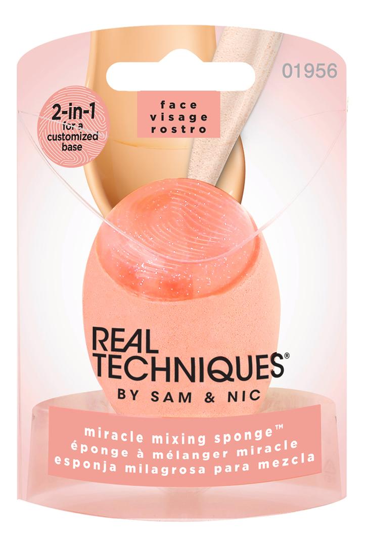Фото - Спонж для макияжа с силиконовым краем Miracle Mixing Sponge спонж для макияжа miracle complexion sponge travel sponge case