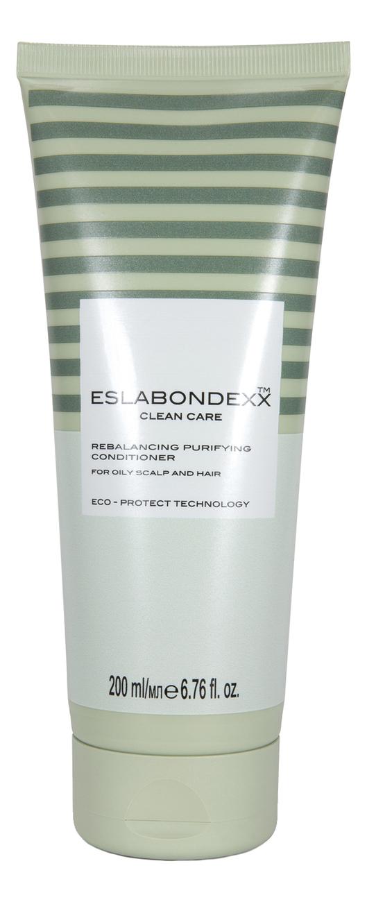 Купить Очищающий и балансирующий бальзам для волос Clean Care Rebalancing Purifying Hair Conditioner 200мл, ESLABONDEXX