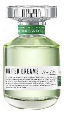 Benetton United Dreams Live Free: туалетная вода 100мл тестер