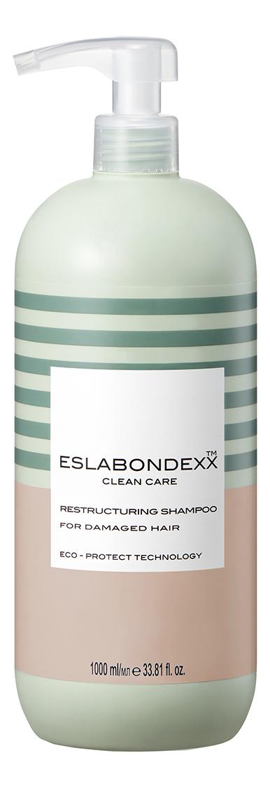 Купить Восстанавливающий шампунь для волос Clean Care Restructuring Shampoo For Damagem Hair: Шампунь 1000мл, ESLABONDEXX