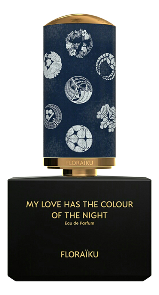 Floraiku My Love Has the Colour Of The Night: парфюмерная вода 3*10мл