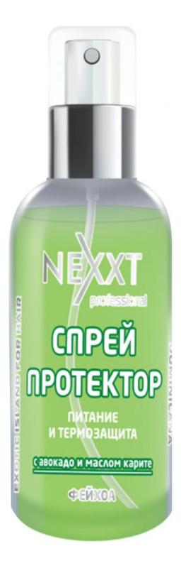 Спрей-протектор для волос с маслом авокадо и карите Питание и термозащита 120мл