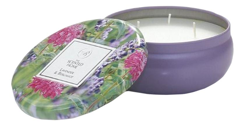 Ароматическая свеча Lavender & Bergamot: свеча 230г недорого